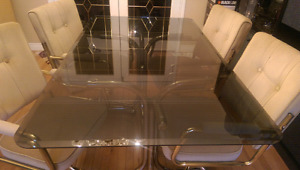 ***GLASS DINING TABLE***