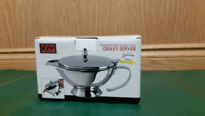 Stainless Steel Gravy Boat - New in box (never used)