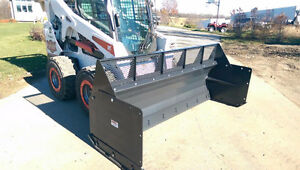 Jenkins HEAVY DUTY Snow Pusher Skidsteer Attachment London Ontario image 2