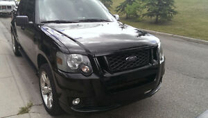 2009 Ford Explorer Sport Trac Black Pickup Truck