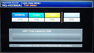 Panasonic WJ-HD316A Security System DVR Edmonton Edmonton Area image 6