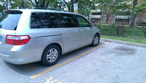 Honda Odyssey exl lady driving second owner 180 km