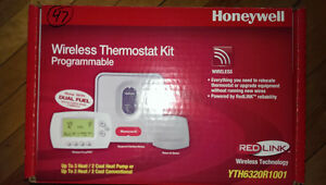 Honeywell Wireless Thermostat Kit