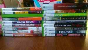 Xbox 360 Games ($5 dollars each) Pick up Only