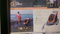 Via Velo Montalban Bike Trailer with Jogger Conversion