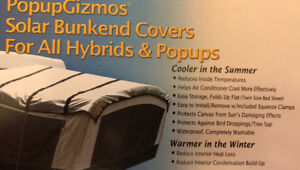 PopupGizzmo Hybrid RV Bunk End Covers