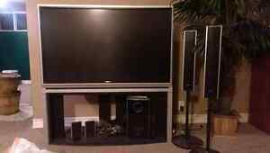 "MUST GO ASAP- 52"" DLP Toshiba w/Sony surround sound"