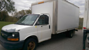 For Sale: 2004 GMC 3500 Cube Van