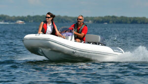 $2000 OFF DEMO GALA DeluxeTender with 20HP motor & Trailer  NS