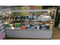 Mobile phone glass counter