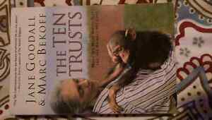 Jane Goodall &Marc Belong -The Ten Trusts -Book