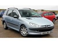 PEUGEOT 206 1.4 DIESEL ESTATE SW S 70 BHP ***CHEAP PART EX TO CLEAR*** 65+ MPG