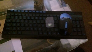 Kimloog Wireless Gaming Mouse And Keyboard