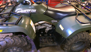 03 arctic cat 400 for sale or trade for gas golf cart
