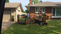 STUMP REMOVAL /HEDGE REMOVAL SERVICES