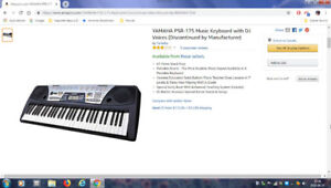 Piano électronique Yamaha PSR 175
