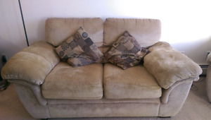 Loveseat couch & Chair for sale