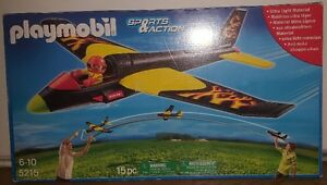 Playmobil Glider and figure