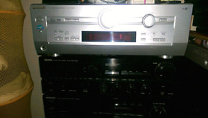 Top of the line ,amps,decks,CD players,speakers,DENON,YAMAHA,