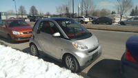 2009 Smart Fortwo passion interieure rouge nego