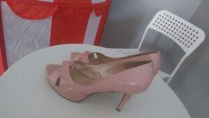 Classy high heel shoes