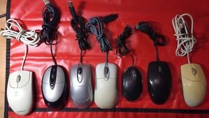 VARIOUS MICE USB PS2 WIRELESS MOUSE USB WEBCAM