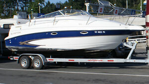 "Beautiful Glastron 25"" Cruiser for sale"