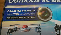 RC Drone Quadcopter with 2 MB Video Camera