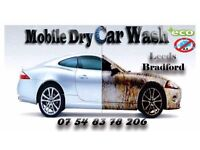 Mobile Dry Car Wash &Valeting Service Full Mini Valet Bradford Leeds Halifax