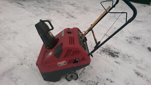 Small Gas Snow Blower