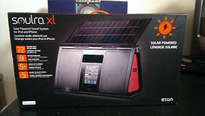 NEW Solar-Powered Sound System for iPod and iPhone