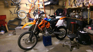 Minty fresh ktm 450 exc-g racing