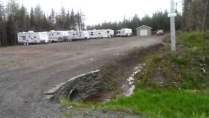 RV Sites  close to Bull Arm site and  Come By Chance refinery