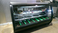 MEAT/DELI DISPLAY COOLER 6/FT (GRAVITY COIL)