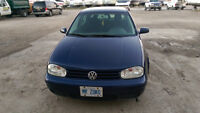 2004 Volkswagen Golf TDI 5-speed manual Diesel