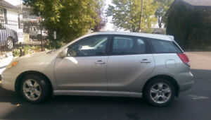 2003 Toyota Matrix XR Wagon