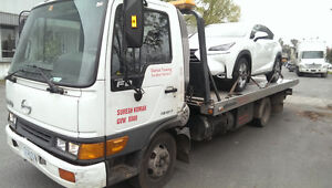 towing lowest rates (flatbed)  service  6047609537