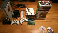 Xbox 360/3 controllers with extra and several old phones