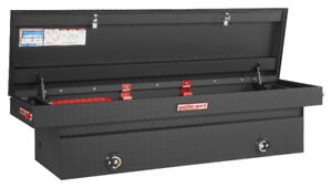 $500 OFF - BRAND NEW WEATHER GUARD ALUMINUM BLACK TRUCK TOOL BOX