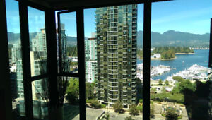"""""""Fully Furnished 1BR+Den Apartment - Coal Harbour - Vancouver"""""""