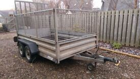 Indespension Caged trailer 10x6ft with ramp