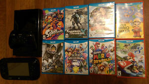 Selling Wii U, Pro Controller, and 8 games