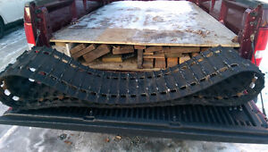 Used 15 x 136 snowmobile track 3/4 inch