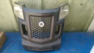 troy built yard tractor front grill