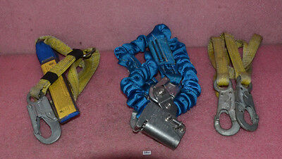 Miller Miller Fall Protection Lanyard Model 216md With Bonus Harness.