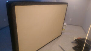 Size Double Box Spring. Clean no rips FREE