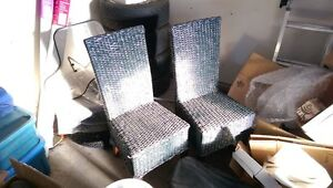 Black Wicker Chairs