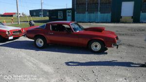 For sale 1976 Chevy Camaro 9,500 O.B.O