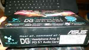 ASUS XONAR DG 5.1AUDIO CARD & HEADPHONE/
