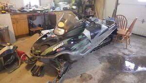 Sled parts Arctic cat and Brp